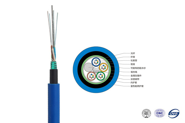 北京MGTSV矿用阻燃光缆1-288芯
