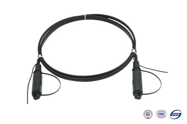 1-12芯室内皮线光纤光缆跳线加各种接头