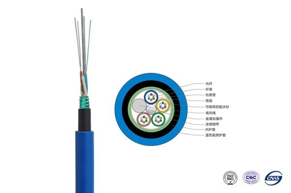 MGTSV矿用阻燃光缆1-288芯